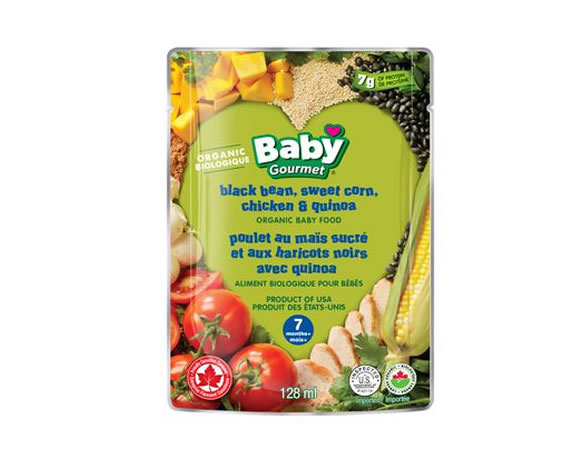 stand up pouches baby food